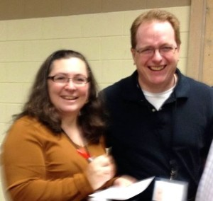 Tom and Holly at WCC marriage retreat 2014