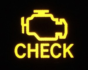 scion check engine