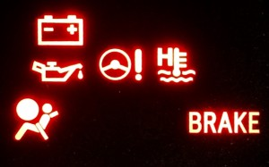 dashboard indicator warning lights scion