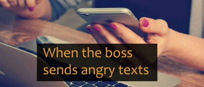 Using Meeting Minutes and a Boss who Manages by Text Messages – Sea:3Ep:10