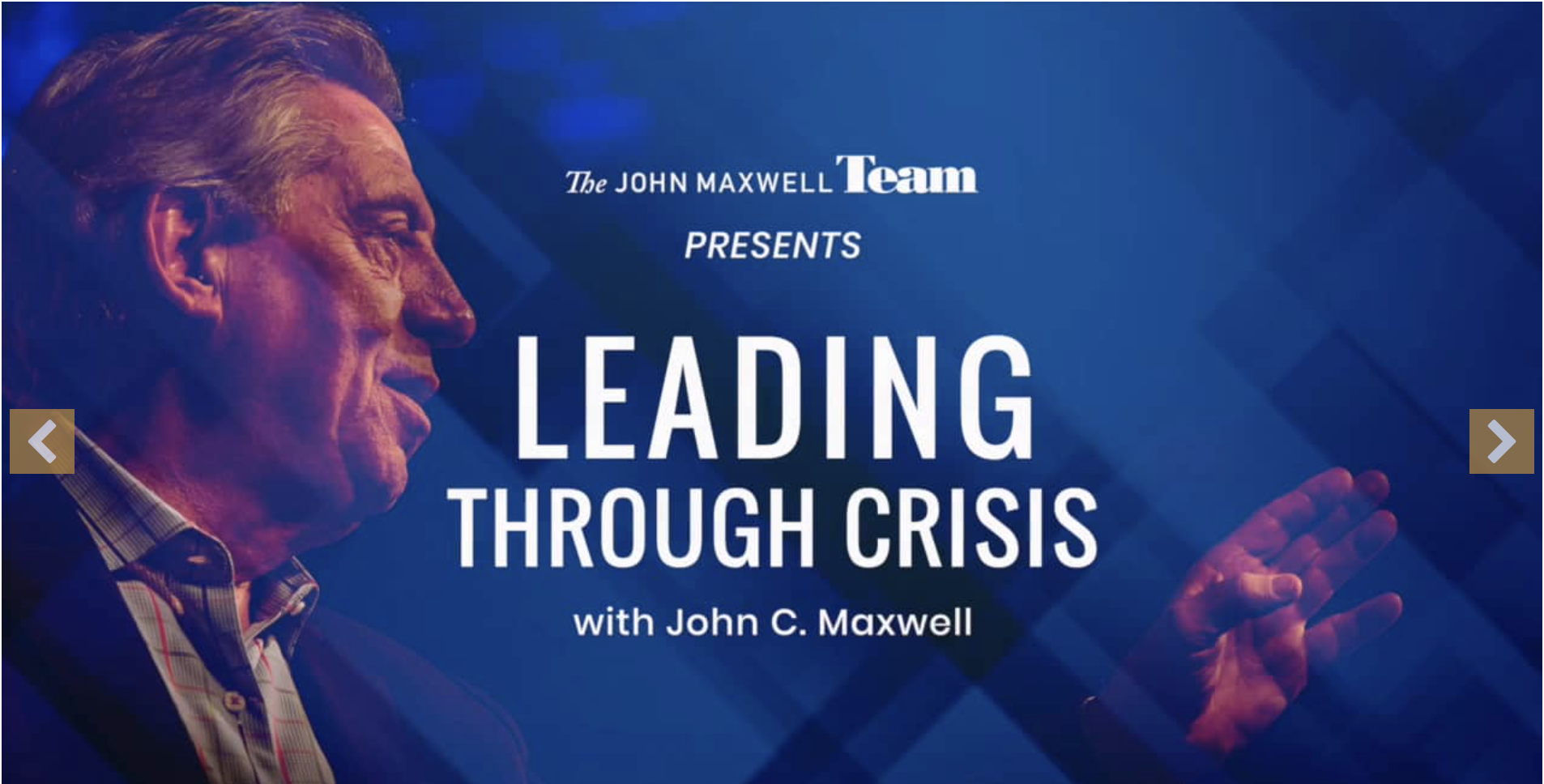 A John Maxwell Leadership Study